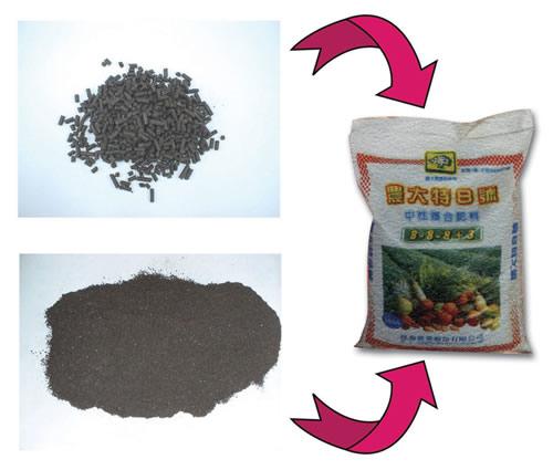Organic Compound Fertilizers N-P-K & Add Trace Elements