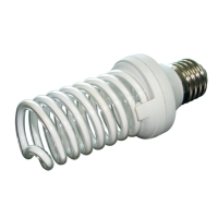 LCD Eco-Dim Spiral Bulb, 3 steps dimmable (CCFL)