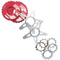 Disk, Spider Disk And Rings For Bicycle