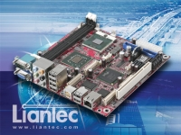 Cens.com Mini-ITX Intel Core 2 Duo Mobile EmBoard LIANTEC SYSTEMS CORPORATION