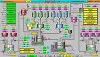 原料計重混合自動控制系統(圖形監控A)