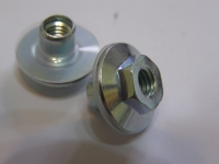 Flange Nut with Nylon Washer