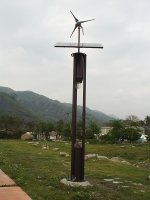 風力太陽能LED路燈72W