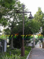 风力太阳能LED路灯36W