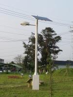 Solar-powered LED Streetlights