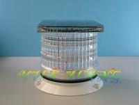 Solar-powered LED Guiding Lamp