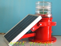Solar-powered LED Guiding Lamp