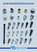 Cens.com Rough & Machined Ball Pin and Socket SINO-PACIFIC SOURCE ENTERPRISE CO., LTD.