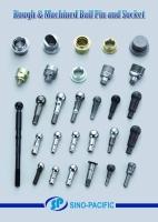 Rough & Machined Ball Pin and Socket