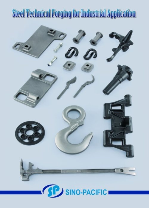 Steel Technical Forging for Industrial Application