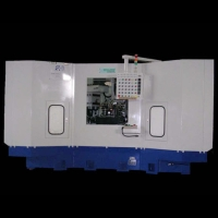 Six-Indexing Combination Milling & Boring Machine With Dual-Item Loader (For Large End Faces)