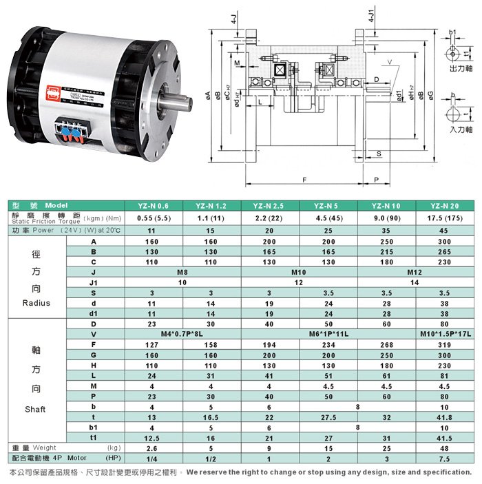 Double-flange-type electromagnetic clutch-brake