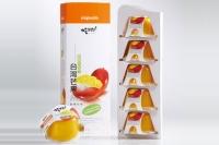 吃果籽鮮果汁布丁-芒果 5入裝