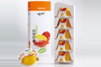 吃果籽鲜果汁布丁-芒果 5入装