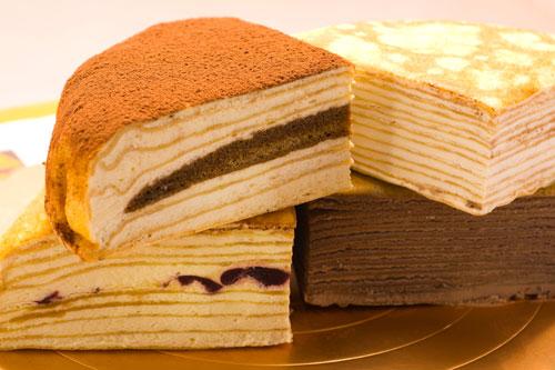 【塔吉特】A款综合口味千层蛋糕