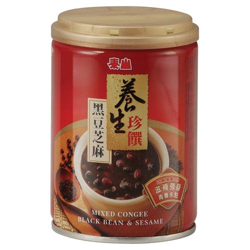 黑豆芝麻粥