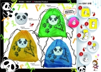 Cens.com 2-1 Purse-Shopping bag (Panda) POWERCASE CORPORATION (TAIWAN)