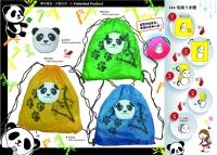 2-1 Purse-Shopping bag (Panda)