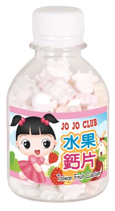 JOJO水果钙片