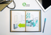 Ecobook3 Recycled Paper Binder Book