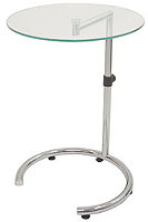 Height Adjustable End Table