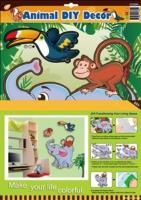 動物DIY壁貼
