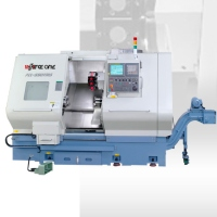 Twin spindle/Single turret:CNC Lathe