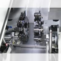 双主轴双刀塔车铣复合机