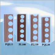 Plastic moldings for dividing cut stones