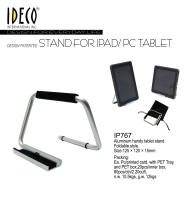 Foldable travel stand for Ipad/Tablet
