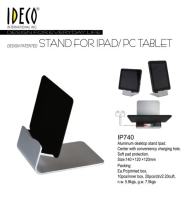 Cens.com Desktop stand for Ipad or tablet IDECO INTERNATIONAL INC.