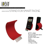 Colored rubber painting finish smart phone holder