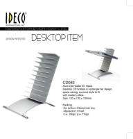 Cens.com Alum.CD Holder for 10pcs IDECO INTERNATIONAL INC.