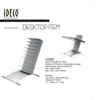 Alum.CD Holder for 10pcs