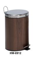 12L 木紋腳踏桶