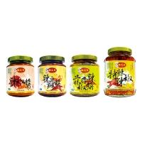 鮮大王-辣椒醬 / 鮮大王-辣豆瓣醬 / 鮮大王-蒜蓉辣椒醬 / 鮮大王-特辣辣椒