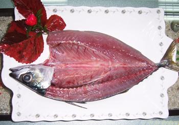 真空薄盐鲭鱼