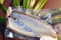 Salt fillet of mackerel pack