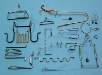 Wire and flat Spring Forms