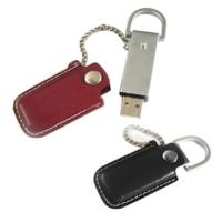 USB皮革碟