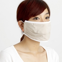 UV Protective Face Mask with Opening