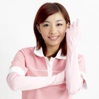 抗UV-花風季節袖套