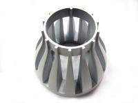 Extruded-aluminum LED heat