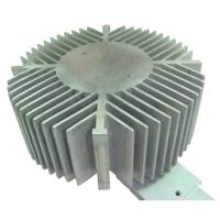 Extruded-aluminum heat sinks for LED lighting