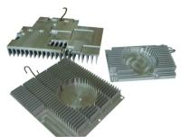 Extruded-aluminum heat-dissipating items