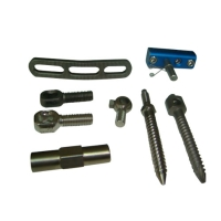 CNC-machined composite items for healthcare equipment
