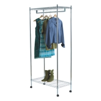 Cens.com Supreme Garment Rack in Chrome ZHONGSHAN CHANG SHENG METAL PRODUCTS CO., LTD.