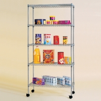 Cens.com 5 Tier Storage Rack ZHONGSHAN CHANG SHENG METAL PRODUCTS CO., LTD.