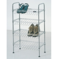 Cens.com 4 Layer Adjustable shoe Rack ZHONGSHAN CHANG SHENG METAL PRODUCTS CO., LTD.
