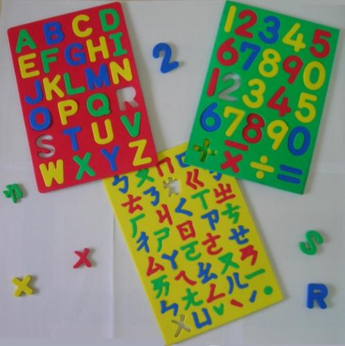 磁性文字/教學板